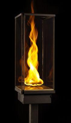 Pure Fireburner Bio Ethanol Wall Torch Drool D Home
