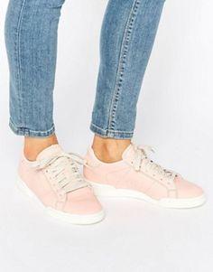 273f3f1b2 adidas Originals Pink Suede Gazelle Trainers at asos.com
