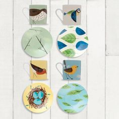 All the Birdies here - as an espresso set. If I had a coffee maker these would e top of my list!