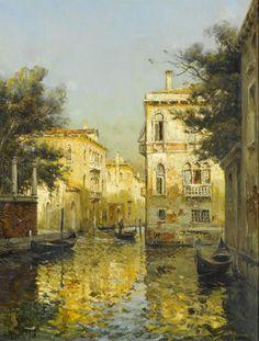 On a Venetian backwater, Antoine Bouvard