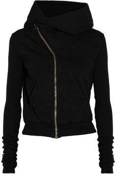 DRKSHDW by Rick Owens Hooded cotton jacket