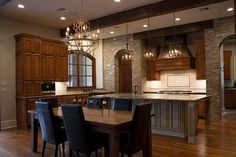 Kitchen was inspired by the Baton Rouge architect A. Hays Town.