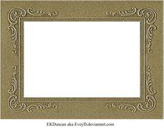 Vintage Cabinet Card Photo Frame Pressboard 2 by ~EveyD on deviantART