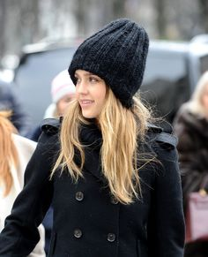 Style Watch  Celebrity streetstyle  13. A simple beanie hat ... 8ef52f4da57f
