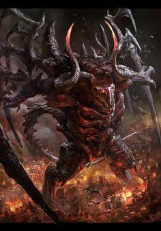 Répertoire Image Fantasy - Page 616 Fantasy Demon, Fantasy Monster, Dark Fantasy, Fantasy Art, Mythological Creatures, Fantasy Creatures, Mythical Creatures, Dark Creatures, Alien Concept