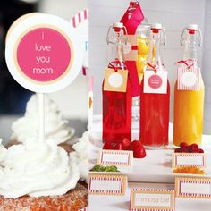 Instant Download - Mother's Day Mimosa Brunch Party Printables