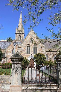Church in Port Elizabeth South Africa Cathedral Basilica, Cathedral Church, Church Architecture, Religious Architecture, Port Elizabeth South Africa, Clifton Beach, Anglican Church, Old Churches, Church Building