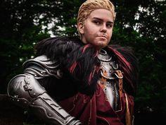 Cullen Cosplay - Lion of Skyhold by zahnpasta on DeviantArt