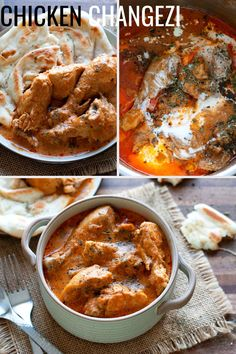 Chicken Changezi is a rich and creamy but mild chicken curry that is perfect with naan bread. Make this Mughlai restaurant style recipe easily in your instant pot.