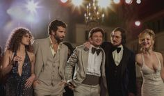 We all hustle to survive. REPIN the official trailer for #AmericanHustle.