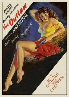 The Outlaw (1943) - Australian One Sheet (Zoe Mozert)
