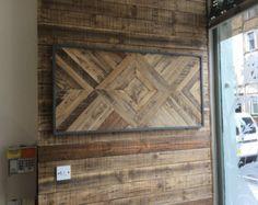 Wood Wall Art  Wood Wall Decor Reclaimed Wood Wall Decor