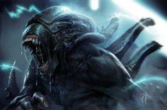 """sconesmiscavp: """" cypulchre: """"  Pete Novak - Alien Hybrid """" Gorilla alien awesome """""""
