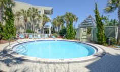 The pool at the Townhome