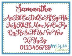 2762 - AC Samantha Font