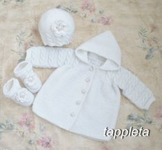 #winter #baby set #jacket with a hood hat booties #sweater for от tappleta
