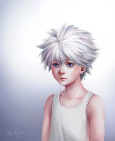 You have it easy, Killua by Edniz on DeviantArt