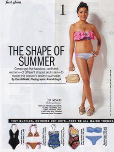 Zariin Feature in Press Cosmopolitan, Wellness, Necklaces, Night, Day, Model, Chain, Scale Model
