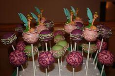 TinkerBell Cake Pops! by Katie's Sweet Shoppe www.facebook.com/katiessweetshoppe
