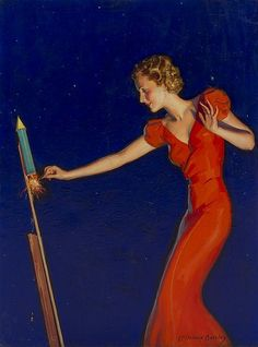 McClelland Barclay, (American, 1891-1943), Firecracker
