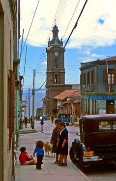 1976, Iglesia de San francisco. Valparaiso.