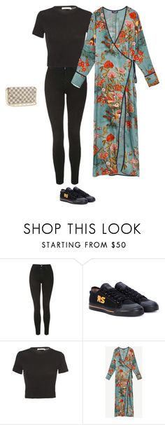 """""""real Saturday"""" by pvzhang on Polyvore featuring Topshop and adidas"""