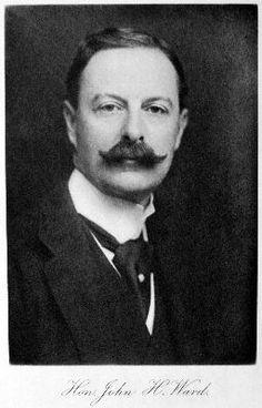 Sir The Honourable John Hubert Ward, son of the first Earl of Dudley married Jean Templeton Reid, daughter of James Whitelaw Reid, American editor, journalist and newspaper owner.