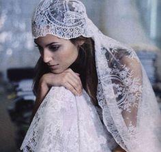 Mantilla de novia