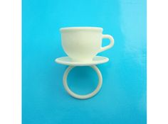 Ring Cup 17 size S (AZASDARRL) by inekeotte on Shapeways. Learn more before you buy, or discover other cool products in Rings. 3d Prints, Mugs, My Style, Tableware, Printing, Fashion, Moda, Dinnerware, La Mode