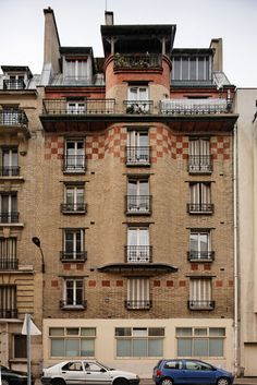 Immeuble de rapport (1913) 8, rue Castagnary Paris 75015. Architecte : Marcel…