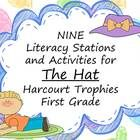 This set includes 9 stations and activities. Activities focus on building flency, comprehension, reading with expression, handwriting, spelling, and finding information in the text. $4