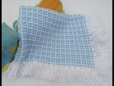 This crochet stitch has a lovely texture and makes a cozy warm blanket for a new baby. This is an easy crochet pattern suitable for beginners :) Let's Stitch. Crochet Baby Blanket Free Pattern, Free Crochet, Crochet Bebe, Tunisian Crochet, Crochet Stitches, Knitting Patterns, Crochet Patterns, Bobble Stitch, Granny Square Blanket