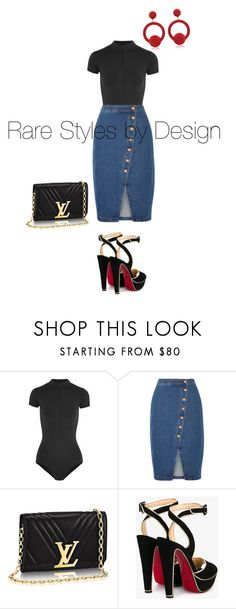 Untitled #388 by fashionista1984 on Polyvore featuring Madewell, Ballet Beautiful, Christian Louboutin and Rebecca de Ravenel