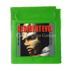Nintendo Game Boy Game Resident Evil Series Video Game Cartridge
