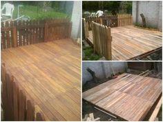 My pallet terrace