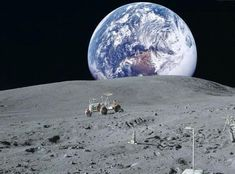 Twitter / Googlearthpics: A view of Earth from The Moon ...