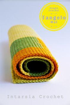 Crochet: The Single Crochet Tangelo (mat)