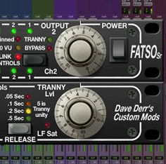 Analog Tape Simulator & Compressor Plug-In. Magnetic Tape, Studio Gear, Audio