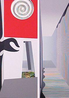 'TiT', 2002 by Richard Hamilton United Kingdom) Marcel Duchamp, Beatles, Richard Hamilton, James Rosenquist, Richard Williams, Pin Up, Claes Oldenburg, Jasper Johns