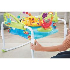 Fisher-price Infant To Toddler Rocker Pink│space For Playing,feeding,resting│new Baby Swings Baby Gear