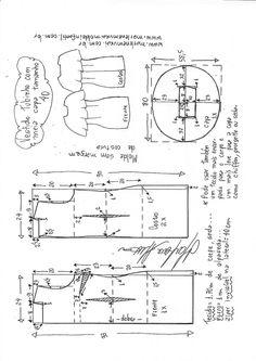 Vestido tubinho com babado meia capa godê no decote | DIY - molde, corte e costura - Marlene Mukai