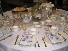 This past weekend's Christian School Mother-Daughter Tea. Our Tea Service looks fabulous on their Fine China! April 27th, 2013