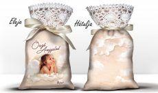 Karácsonyi álom zsák levendulával, őrző angyalod