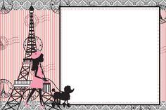 Precioso París: Imprimibles Gratis para Fiestas.