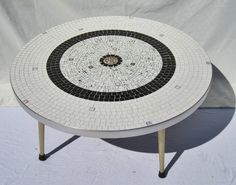 Mid Century Mosaic Coffee Table by FloridaFound on Etsy https://www.etsy.com/listing/207231934/mid-century-mosaic-coffee-table