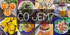 co jem raw till 4 Vegan Recipes, Vegan Meals, Grilling, Salad, Cheese, Fresh, Table Decorations, Orange, Food
