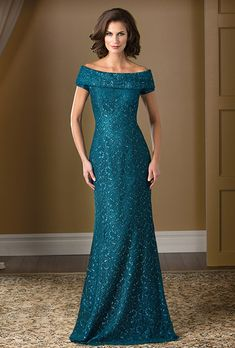 9a168b0a23e Jade Couture . Feel glamorous and sophisticated with this lace special  occasion gown. The boat