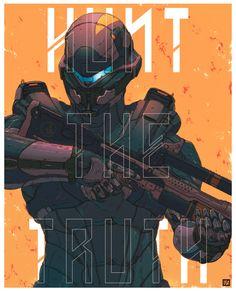 Hunt the Truth: Spartan Locke Halo 5