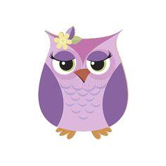 coruja rosa desenho colorido - Pesquisa Google