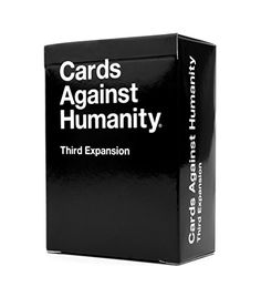 Cards Against Humanity: Third Expansion Cards Against Humanity http://www.amazon.com/dp/B00B3YT030/ref=cm_sw_r_pi_dp_fV9Hub11EAVTR